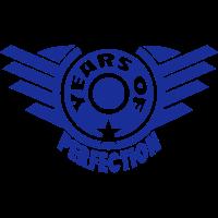addieren Jahr years perfection 4 logo