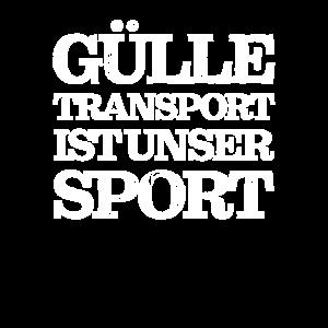 Gülle Transport Ist Unser Sport