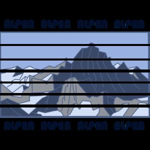 Alpen, Berge, Gebirge