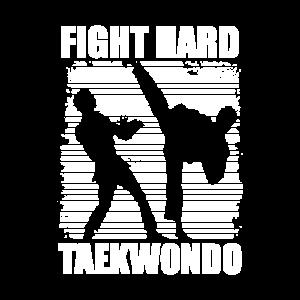 Taekwondo Kaempfer Geschenk