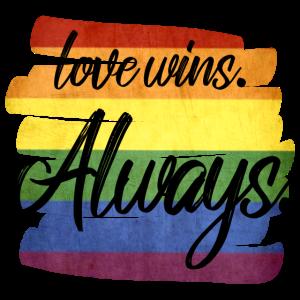 Love wins. Always