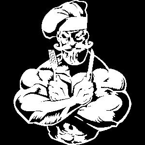 Koch Muskeln Bodybuilding