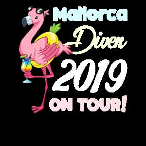 Flamingo Mallorca Diven on Tour Freundin Geschenk