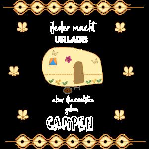 Camping Caravan Spruch