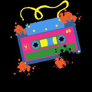1980er Kassette 80's 80er