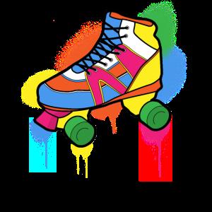 1980s 80s 80er Roller Skates Skating