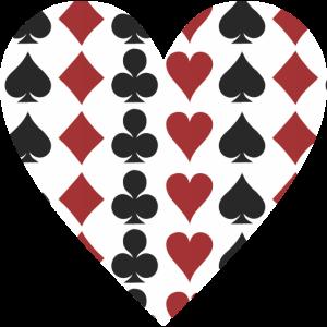 Poker Herz Karten Spiel