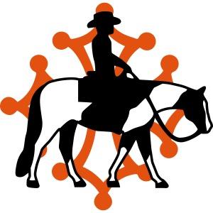 AREW Languedoc Roussillon croix et cavalier