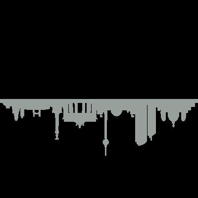 Skyline Berlin Schatten - Skyline Berlin Schatten - wahrzeichen,stadt,skyline,silhouette,sehenswürdigkeit,panorama,hauptstadt,gebäude,fernsehturm,denkmal,brandenburger tor,berliner,berlin