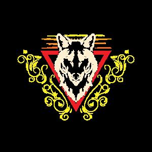 Tattoo Wolf Kopf Tribal