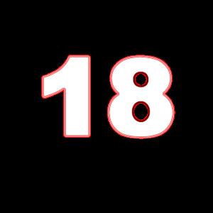 18 achtzehn