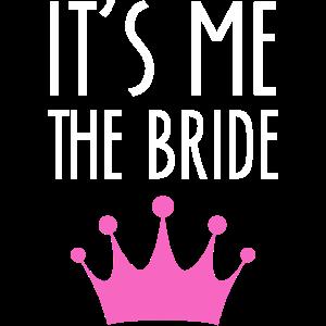 Braut Ehefrau Statement Spruch JGA Hochzeitsparty