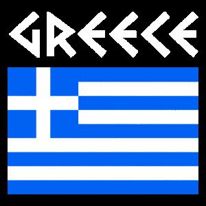 Griechenland griechisch Flagge Land