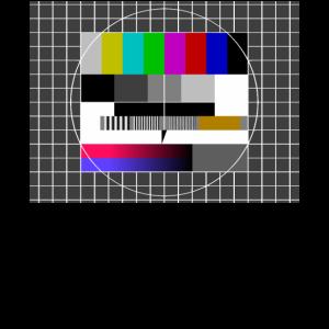 Testbild Sendepause 80er 80's