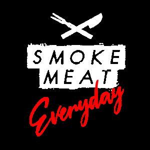 Grillen Fleisch Smoken Jeden Tag