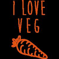 I love veg!