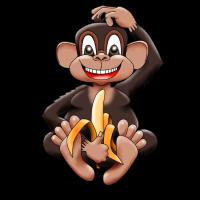 Bananenaffe