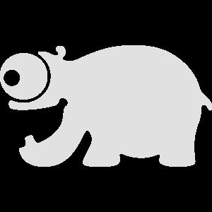 Lustiges Nilpferd