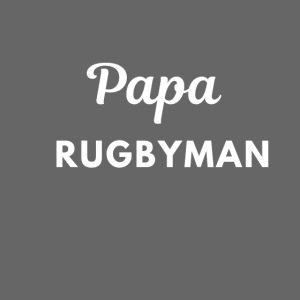 Papa rugbyman