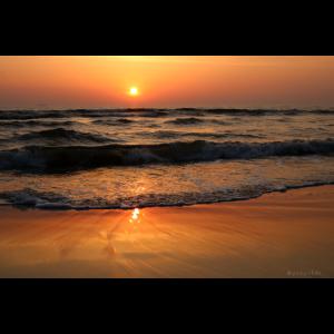 Sonnenaufgang an der Steilküste von Bansin Nr.66