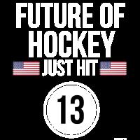 Zukunft des Eishockeys Hit 13 Teenager-Teenager