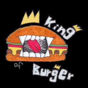 """Kids T-Shirt """"King of Burger"""""""