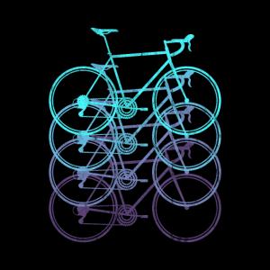 Rennrad Rennradfahrer Fahrrad Triathlon Poster