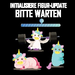 Einhorn – Shirt Fabelwesen Unicorn Sport Geschenk