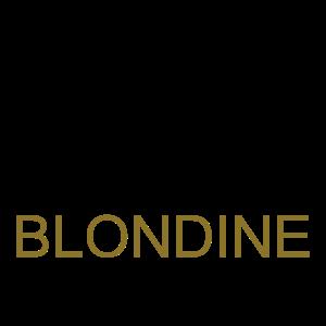 Blondine Halt