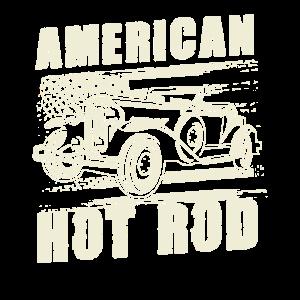 American Hot Rod Motor V8 Muscle Car