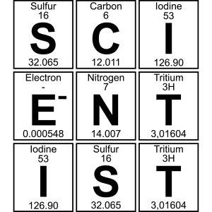 S-C-I-E-N-T-I-S-T (scientist)