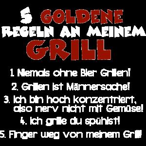 Goldene Grillregeln, Grillmeister Regeln