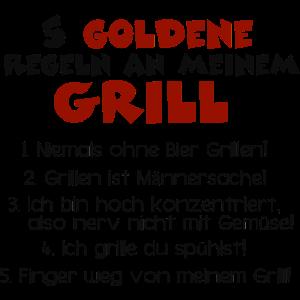5 goldene Grillregeln - Grillmeister Regelwerk