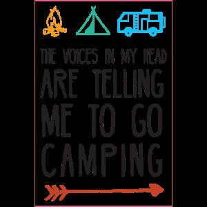 Lass uns Camping gehen!