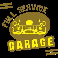 auto vintage logo full service garage
