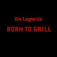 Born to Grill, Grillmeister, Grillschürze