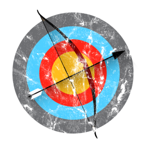 Archery Target Longbow Gift