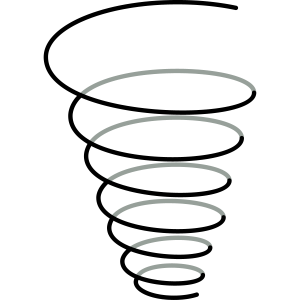 """Symbol Fülle """"Spiralen Trichter"""""""