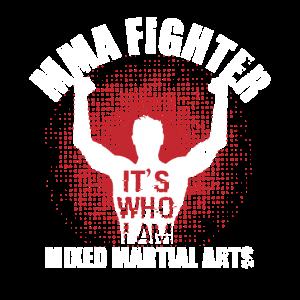MMA Kaempfer Champion Geschenk