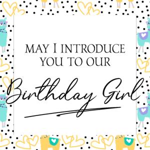 Geburtstag, Birthday Girl, Lama, Geschenkidee