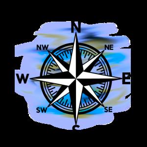 Windrose Kompass Nautik Seefahrt