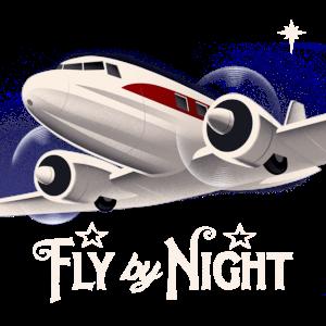 Flugzeug im Vintage-Stil