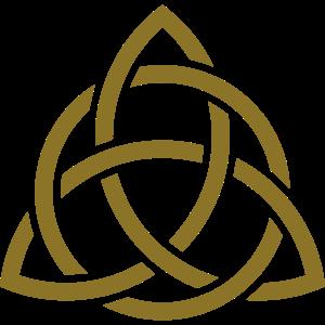 Keltisches Symbol, Triquetra, Patricks Day, Knoten