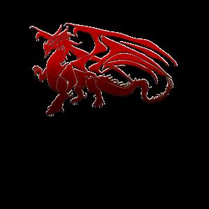 Roter Drachen