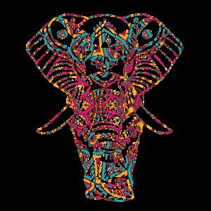 YOGA, Elefant, Meditation, Geschenk, Geschenkidee