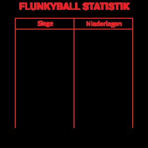 Flunkyball Shirt · Flunkyball Statistik · Geschenk
