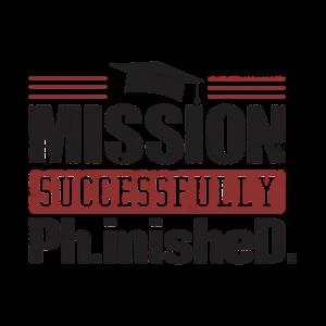 Mission erfolgreich abgeschlossenes Geschenk