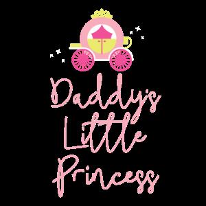 Daddies little Princess Papa Tochter Geschenk