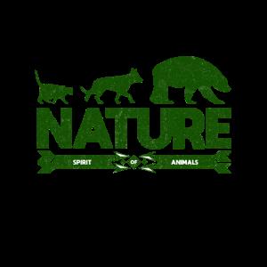 Natur Baer Hund Katze Naturhemd fuer Naturliebhabe