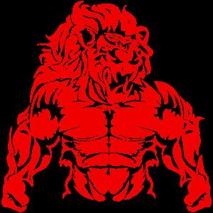 Löwe Sternzeichen fitness power beast